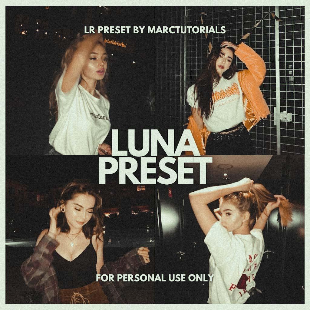 LUNA LIGHTROOM PRESET- Lightroom Preset