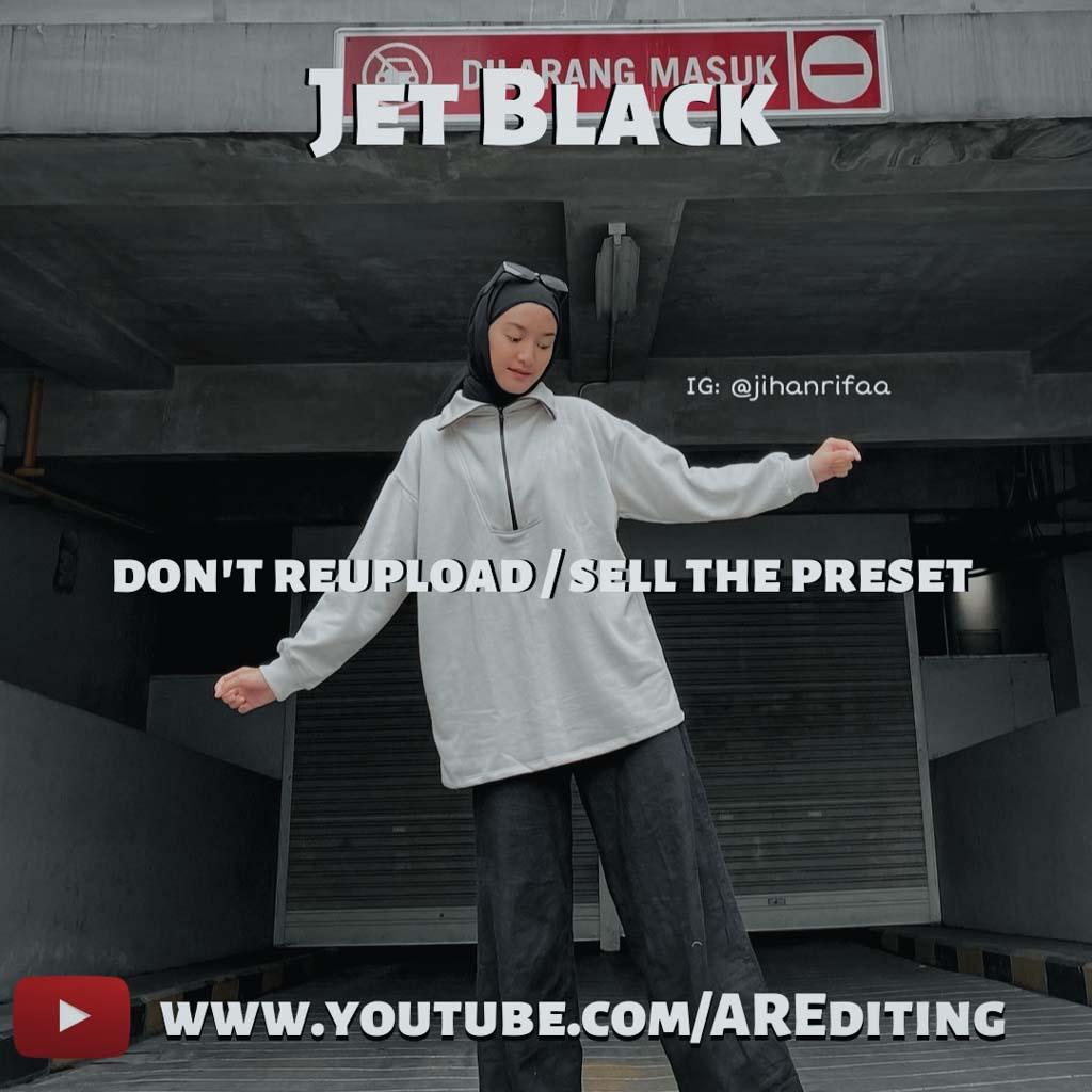 Jet Black (Parking Area) Lightroom Preset