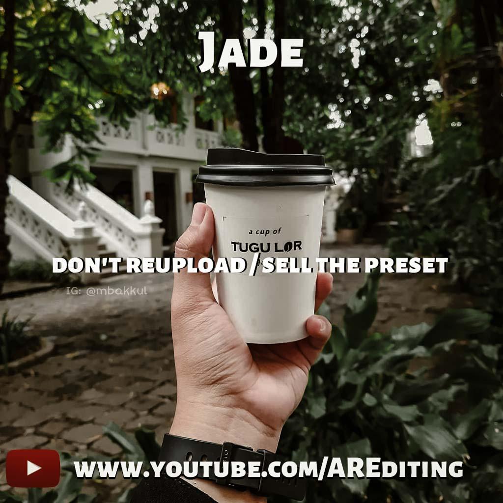 Jade Preset! Lightroom Preset