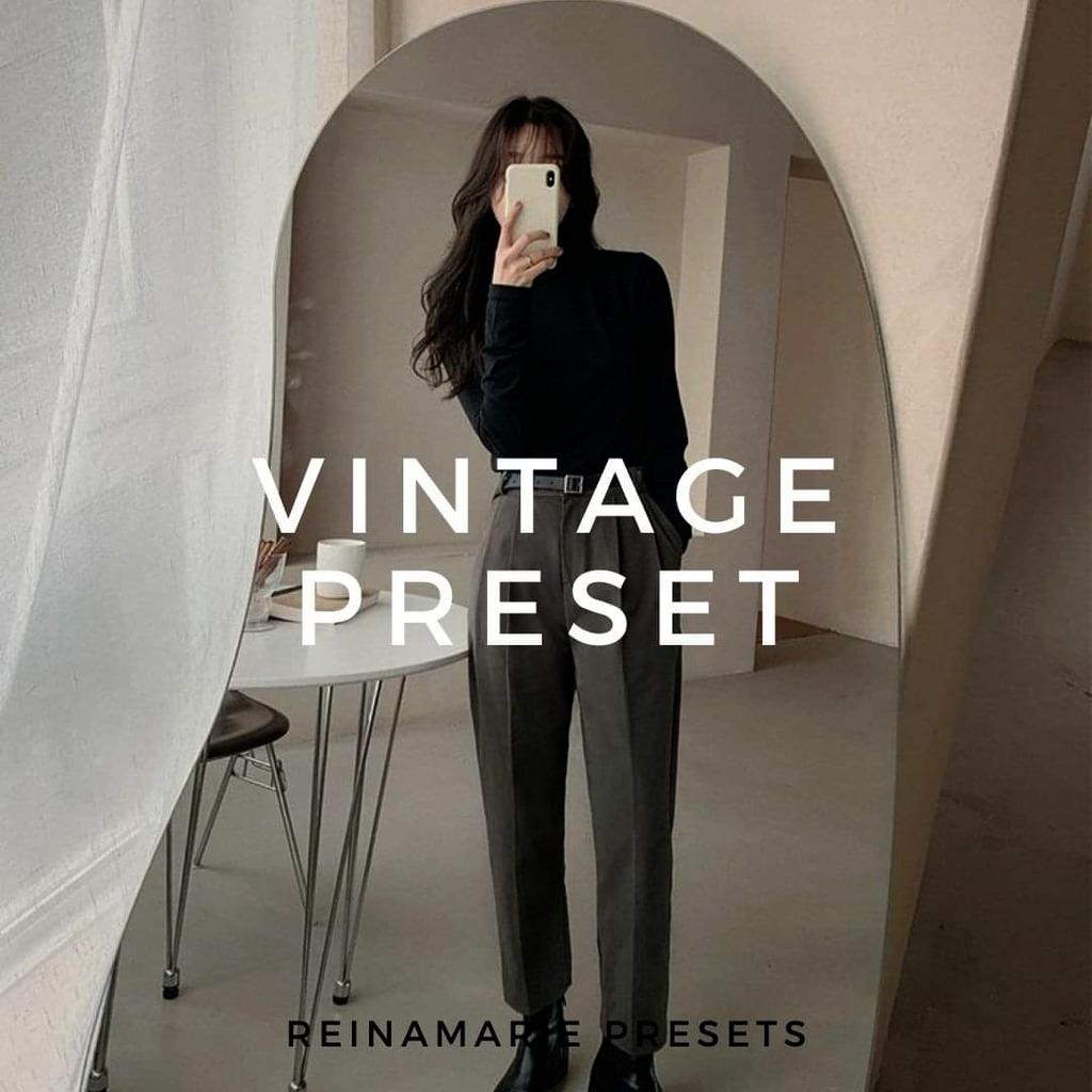 Vintage Preset- Lightroom Preset