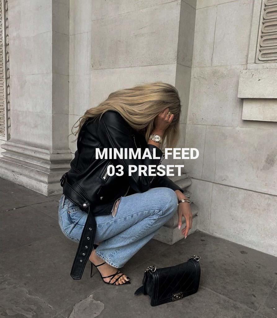 Minimal Feed 03 Lightroom Preset