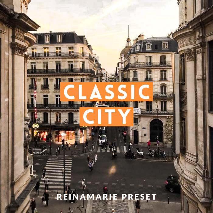 Classic City Preset- Lightroom Preset