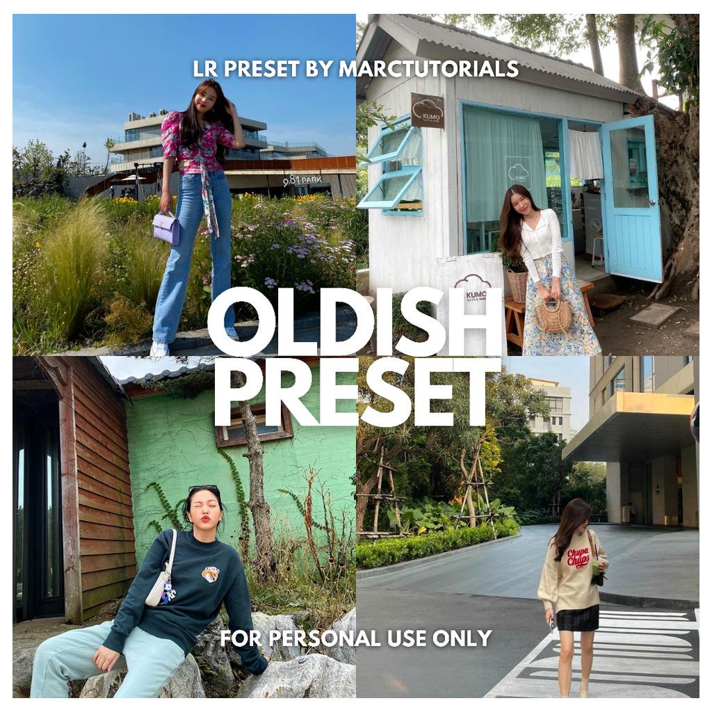 OLDISH - DISPO FILM LIGHTROOM PRESET- Lightroom Preset