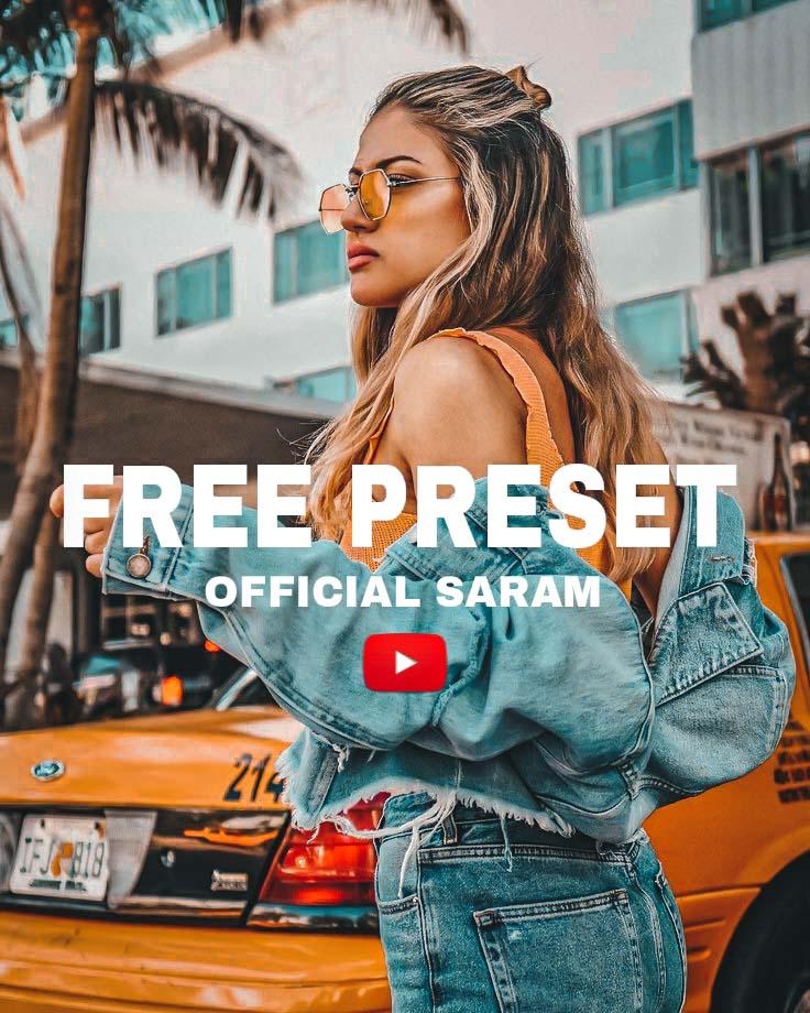FREE PRESET Lightroom Preset