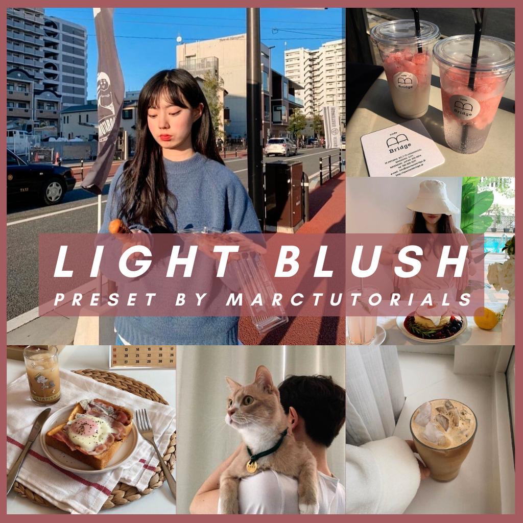 light blush- Lightroom Preset