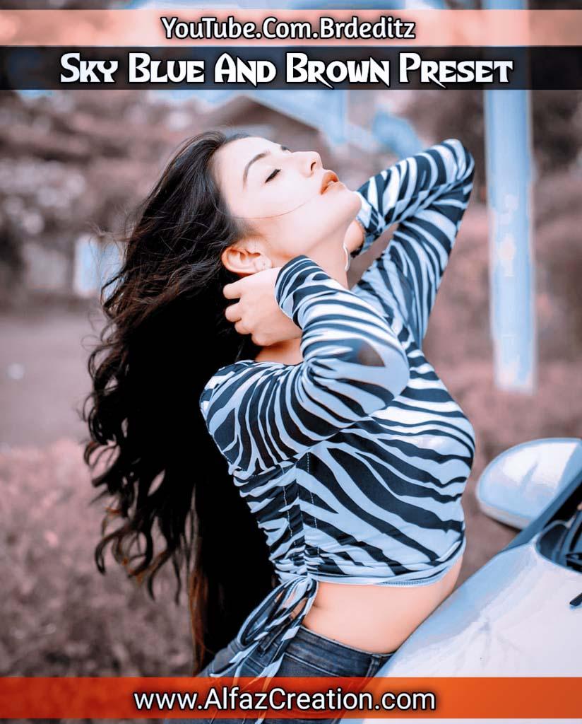 Sky blue And Brown Presets Download Lightroom Preset