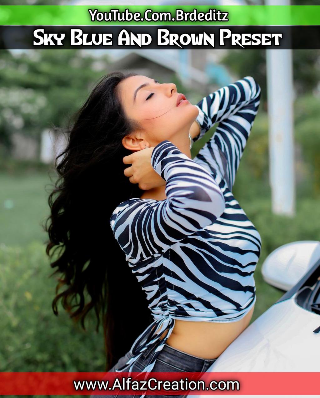 Sky blue And Brown Presets Download- Lightroom Preset