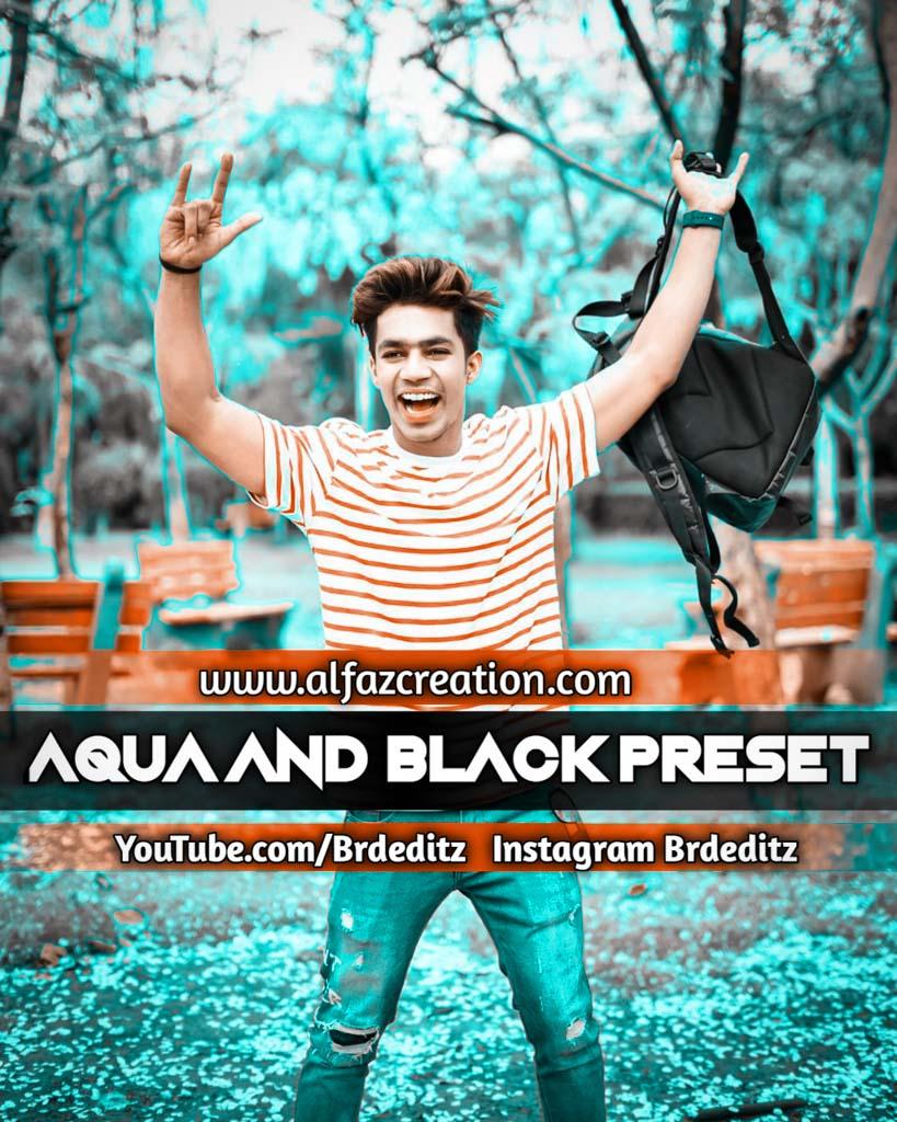 Aqua And Black Effect Lightroom Presets Download Lightroom Preset