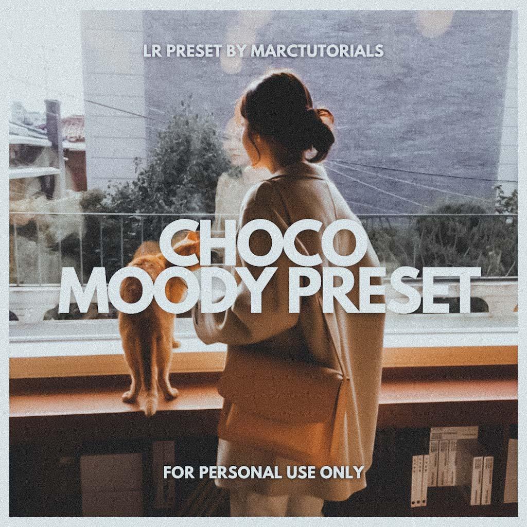 Moody Choco Lightroom Preset- Lightroom Preset