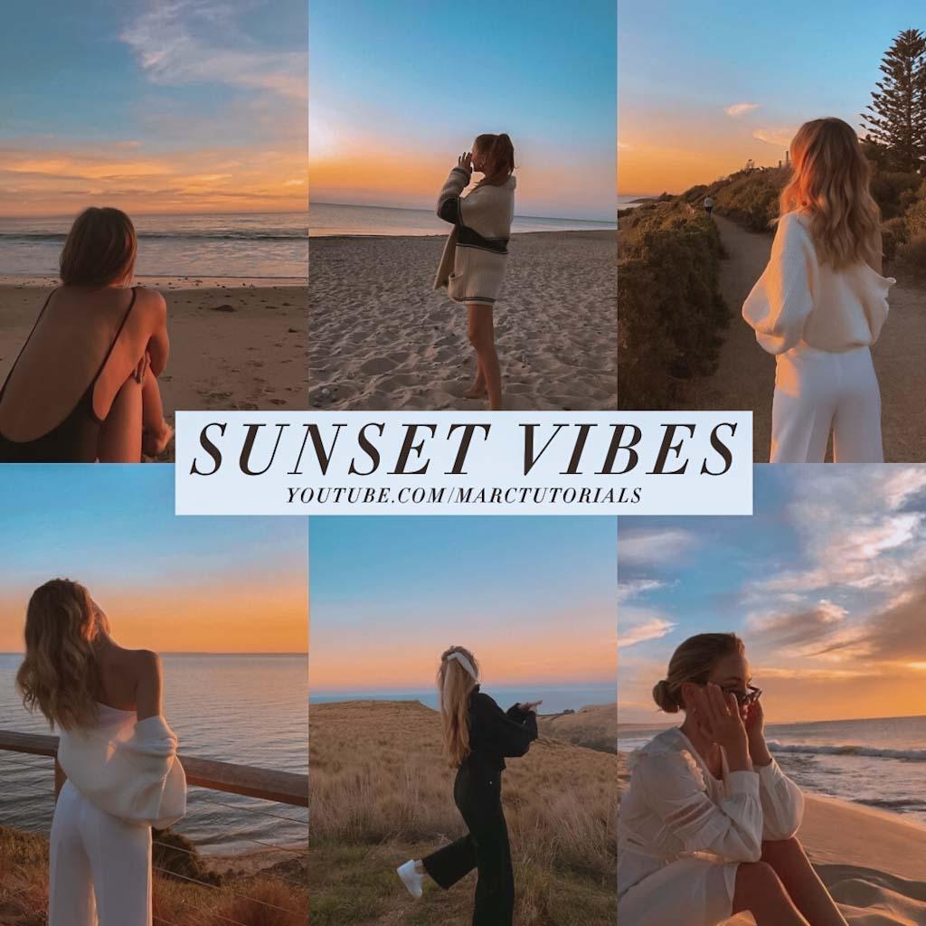 Sunset Vibes Preset- Lightroom Preset