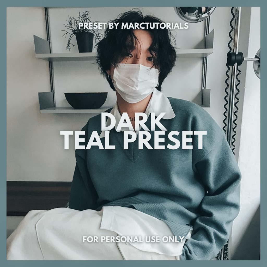 Dark Teal Preset- Lightroom Preset