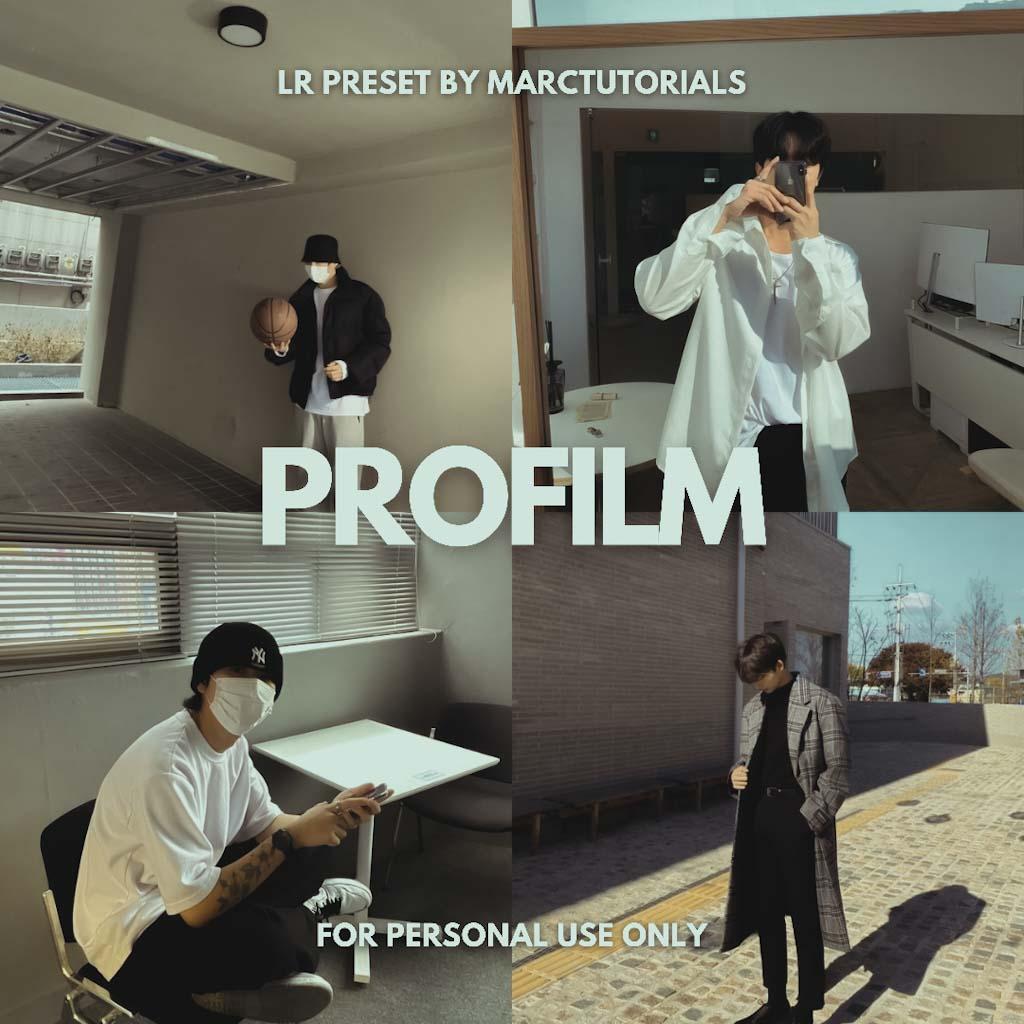 ProFilm Preset - Lightroom Mobile Aesthetic Film P Lightroom Preset