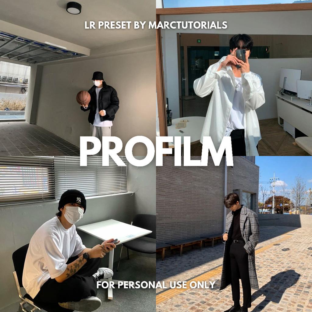 ProFilm Preset - Lightroom Mobile Aesthetic Film P- Lightroom Preset
