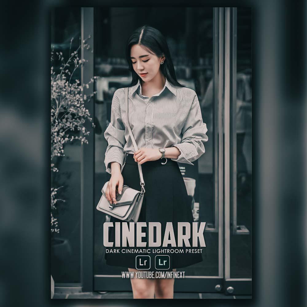 Dark Cinematic lightroom preset Lightroom Preset