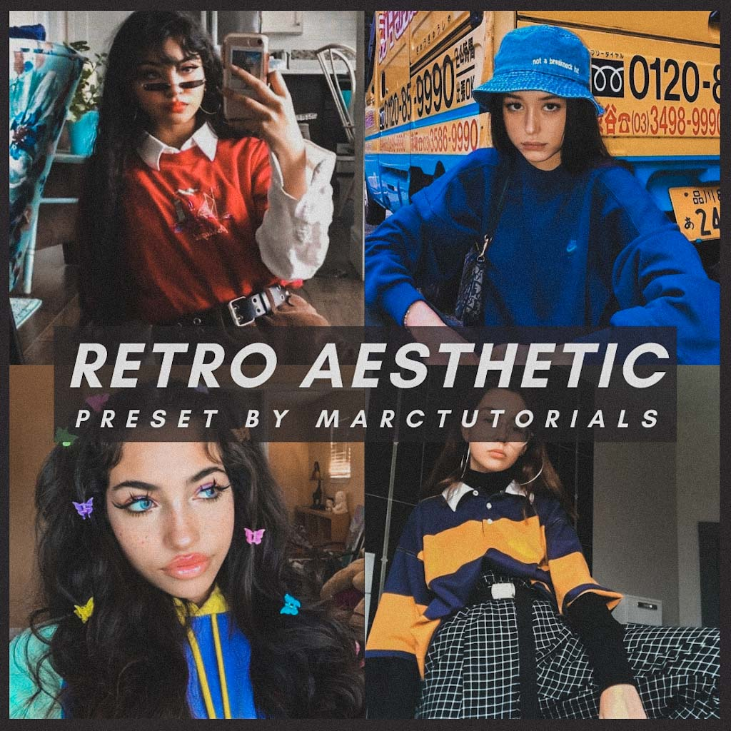 retro aesthetic- Lightroom Preset