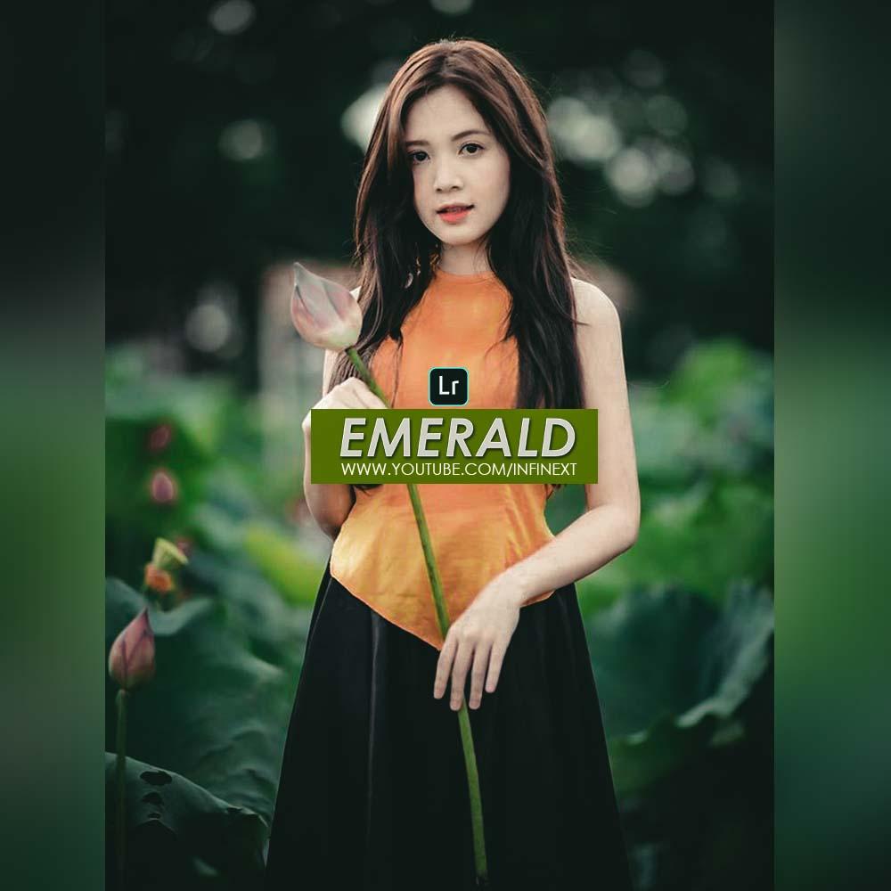 Emerald preset - Dark green preset Lightroom Preset