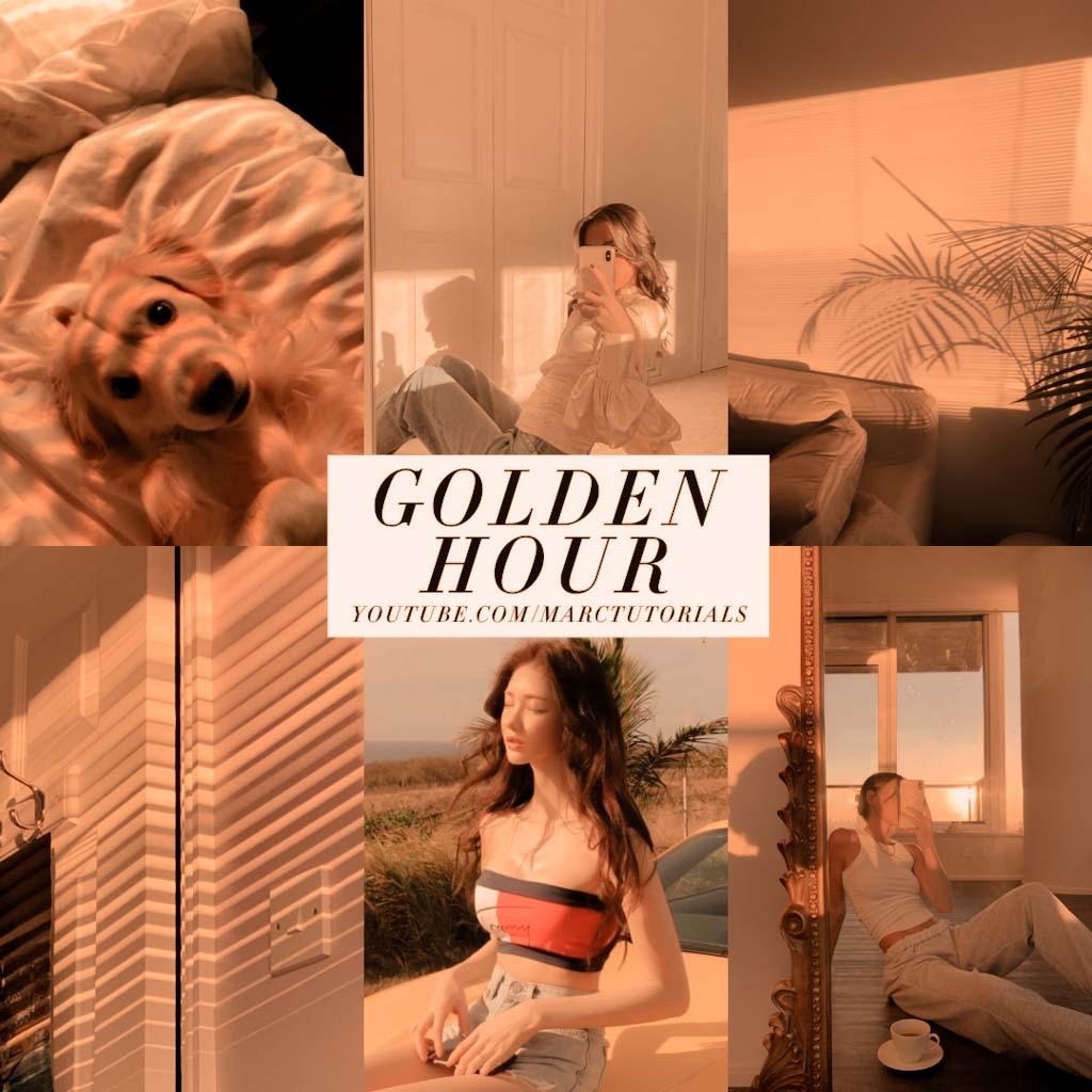 golden hour- Lightroom Preset