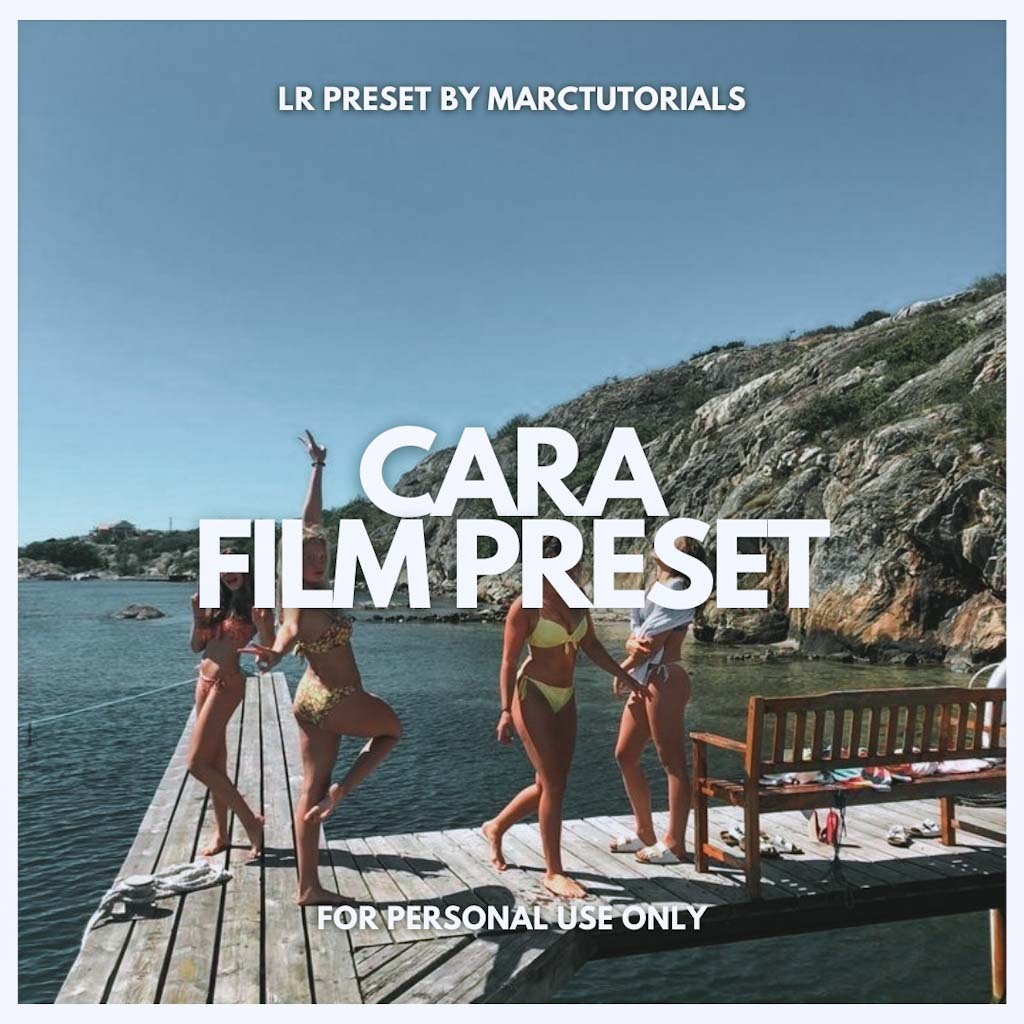 CARA AESTHETIC FILM LIGHTROOM PRESET- Lightroom Preset