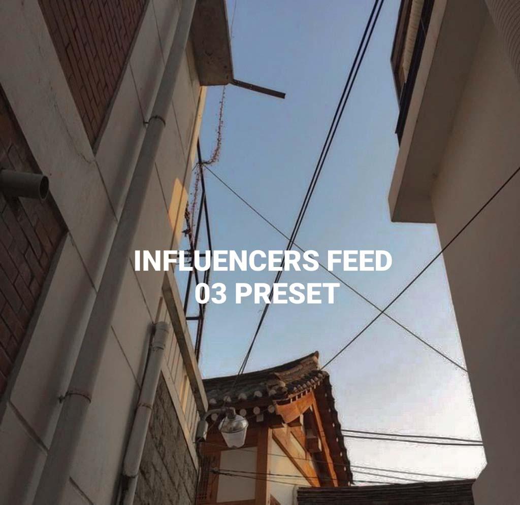 Influencers Feed 03 Lightroom Preset