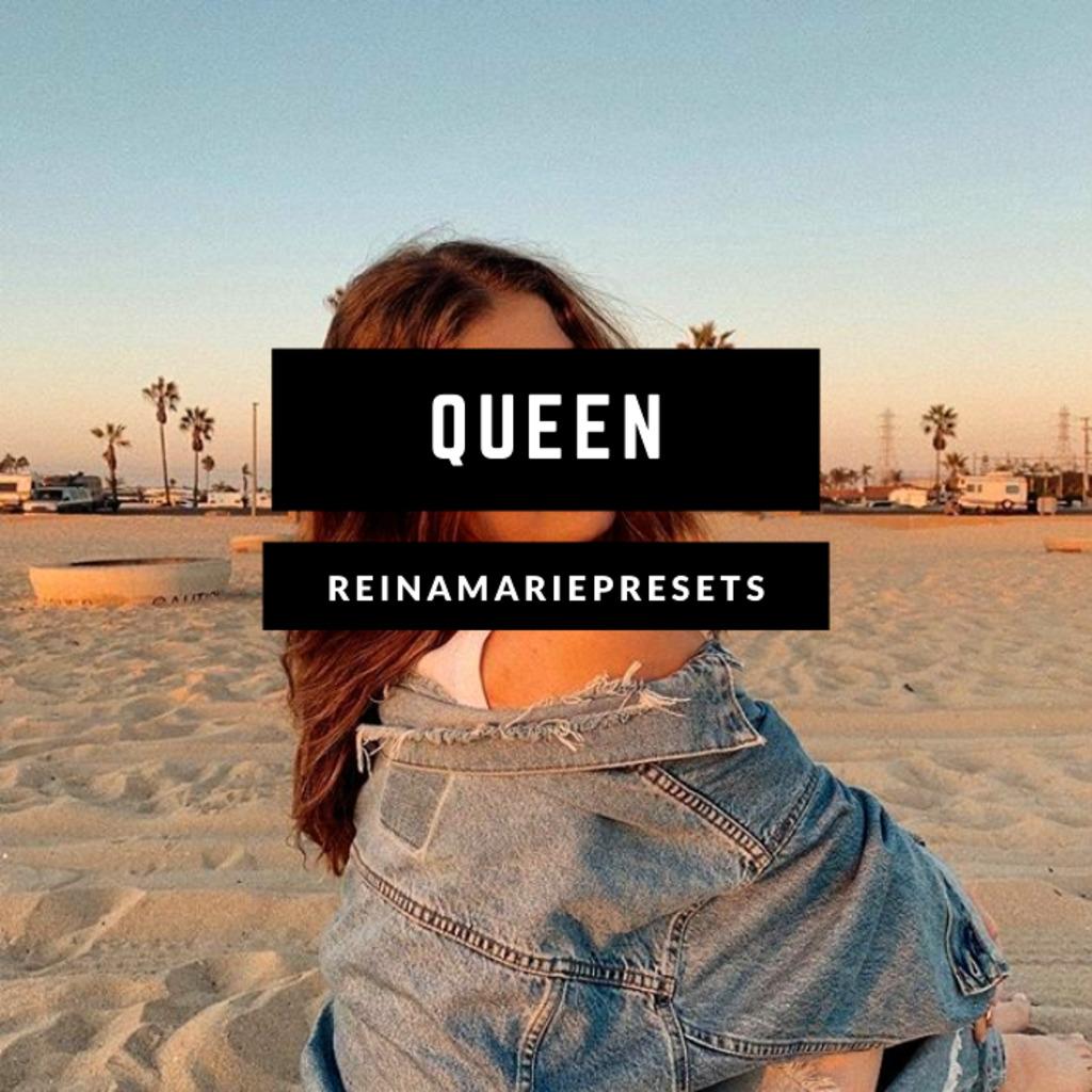 QUEEN Preset | Free Lightroom Mobile Presets Free - Lightroom Preset