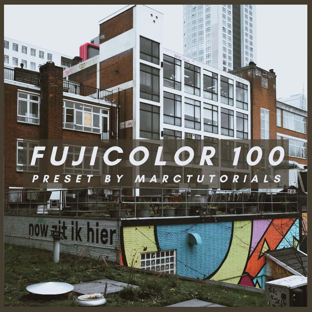 fujicolor- Lightroom Preset