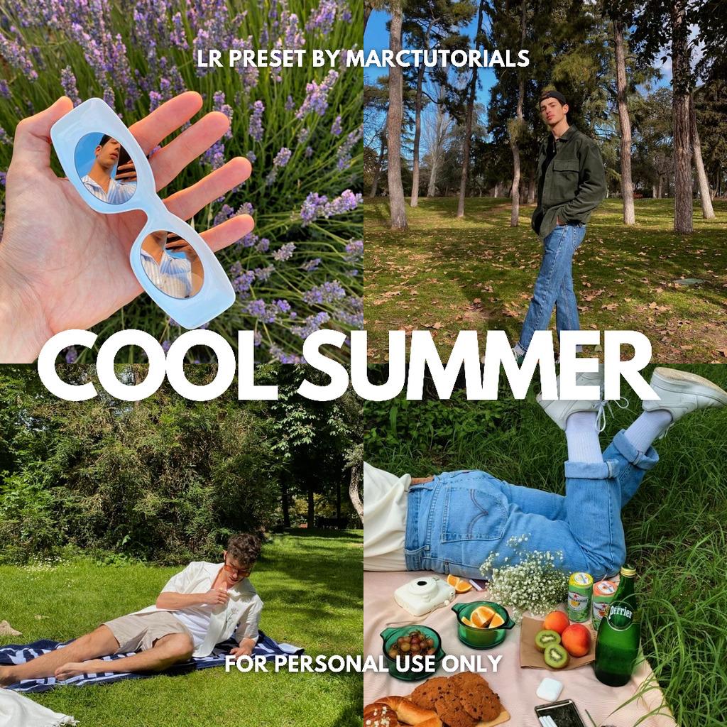 Cool Summer Aesthetic Lightroom Preset | Free Prem- Lightroom Preset
