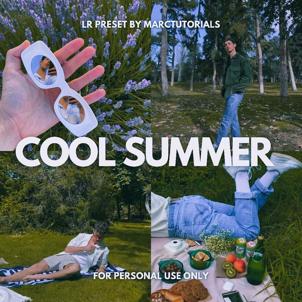 Cool Summer Aesthetic Lightroom Preset | Free Prem Lightroom Preset