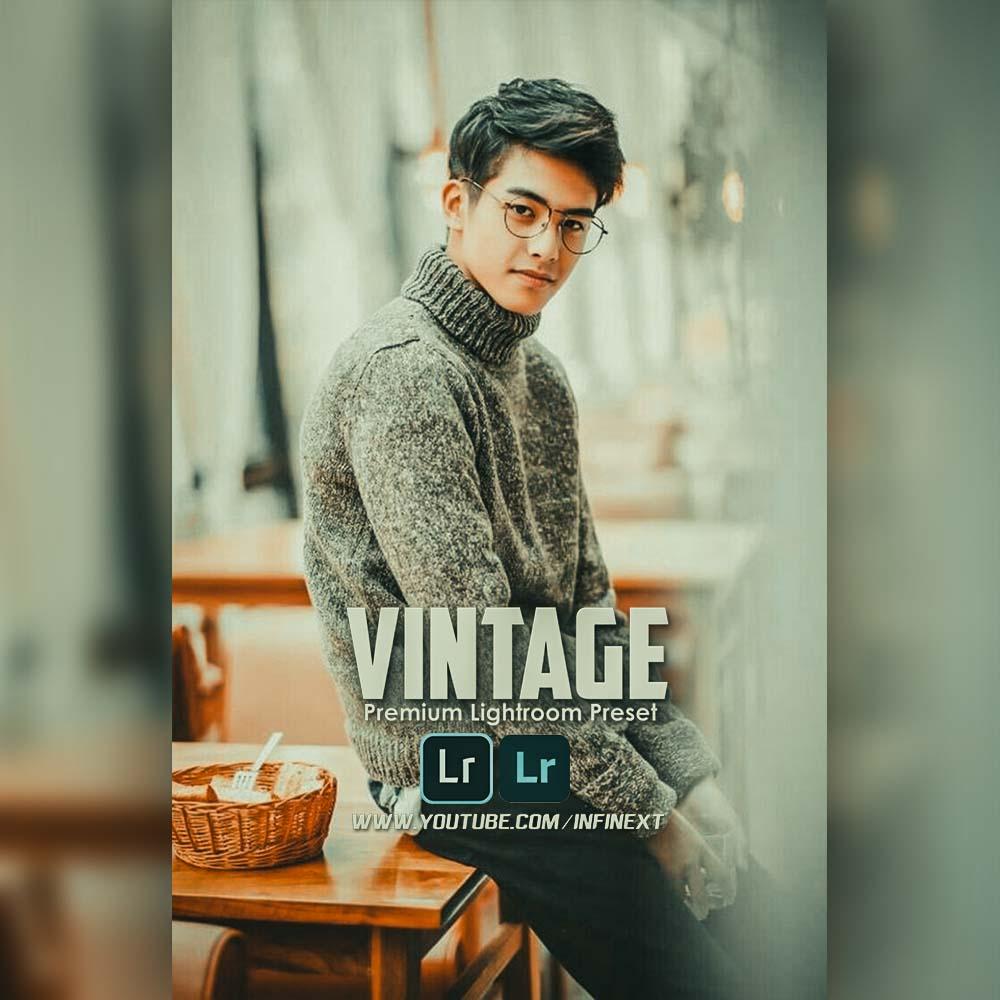 Vintage preset Lightroom Preset