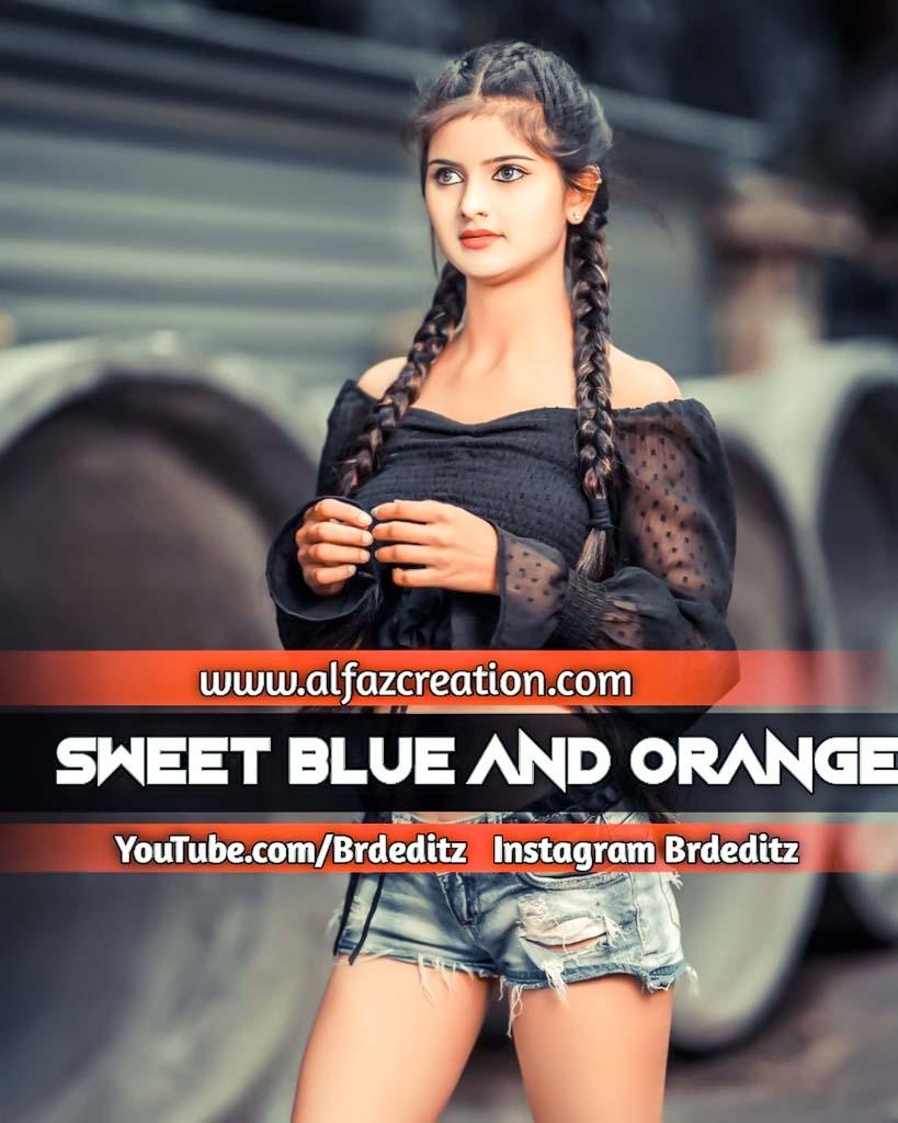 Sweet Blue And Orange Effect Lightroom Presets Dow Lightroom Preset