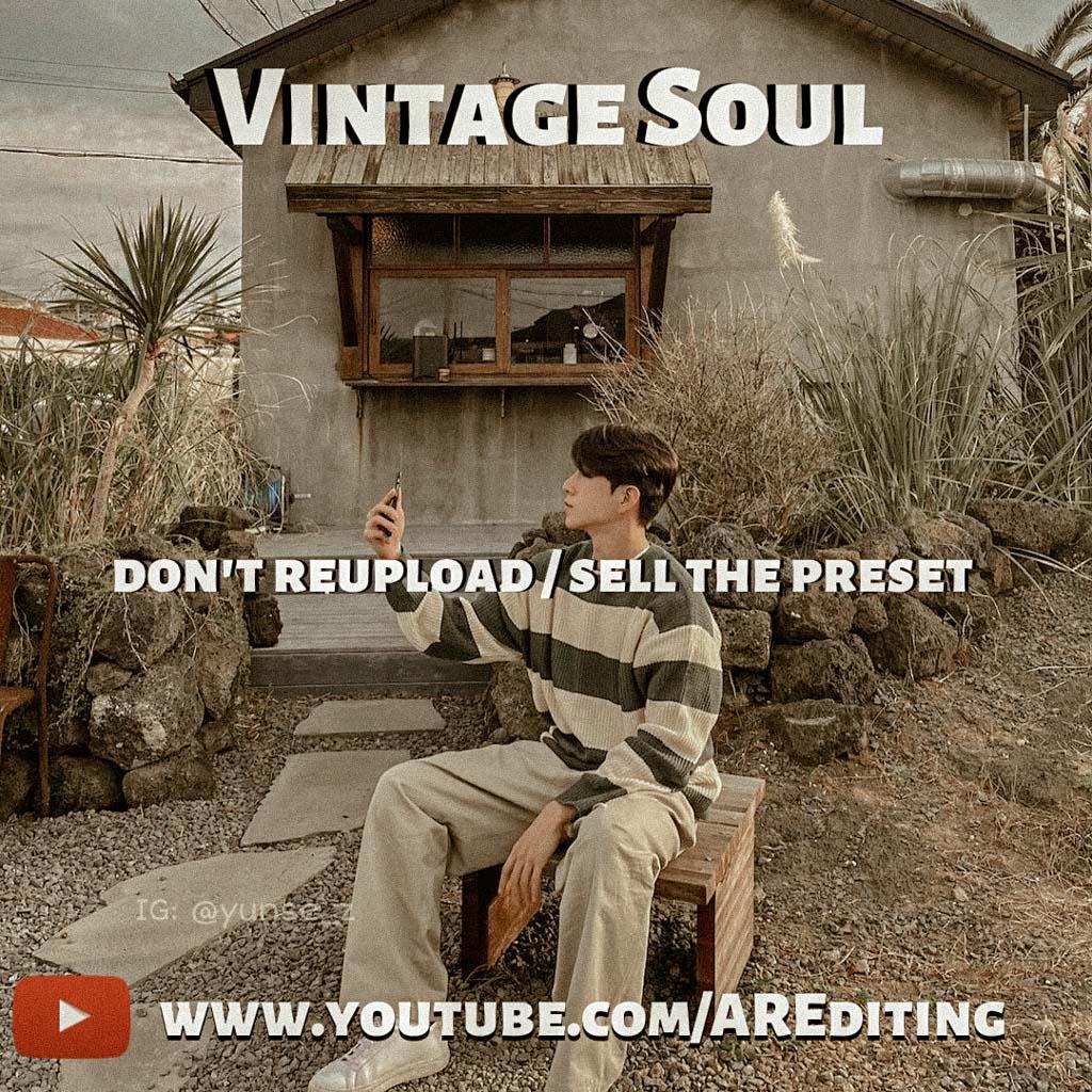 Vintage Soul Preset! Lightroom Preset