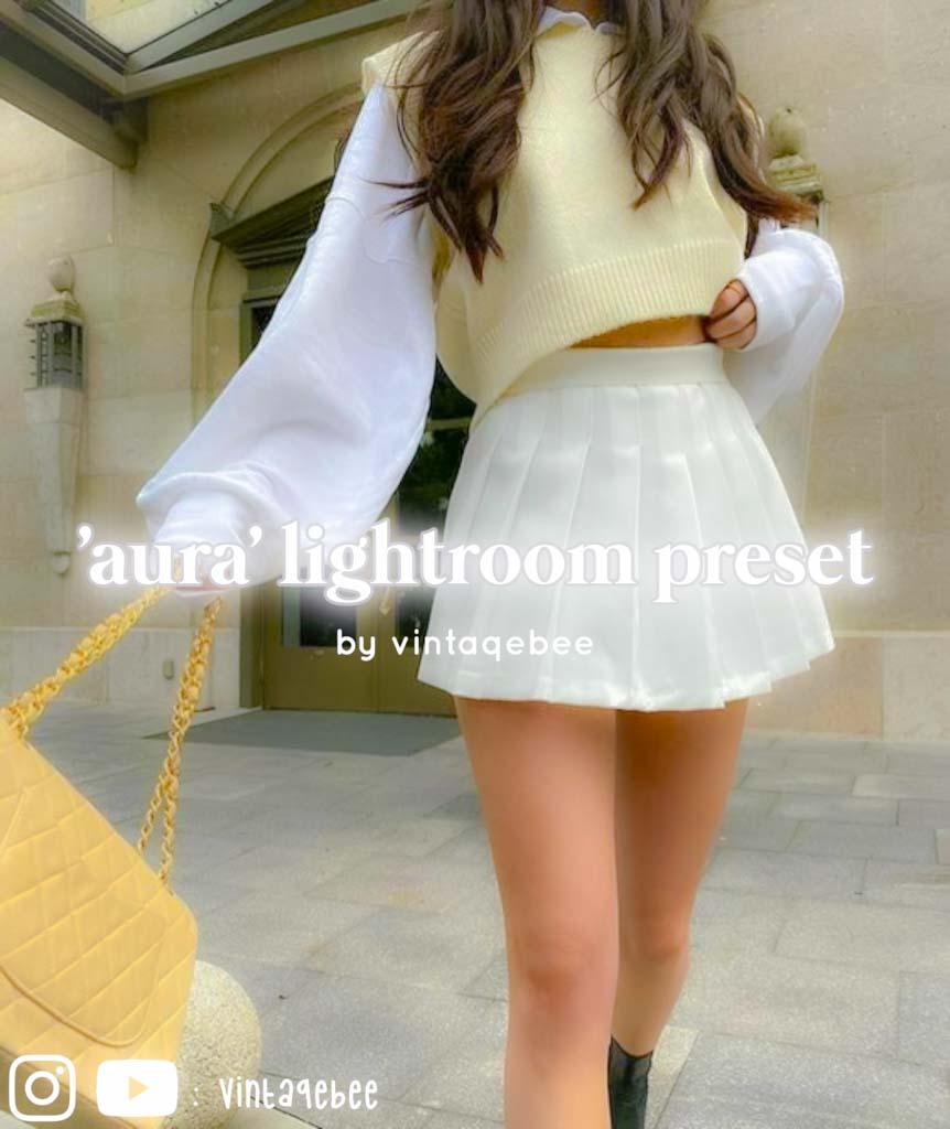 'aura' lightroom preset Lightroom Preset
