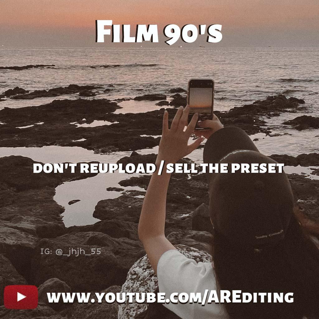 Film 90's Preset! Lightroom Preset