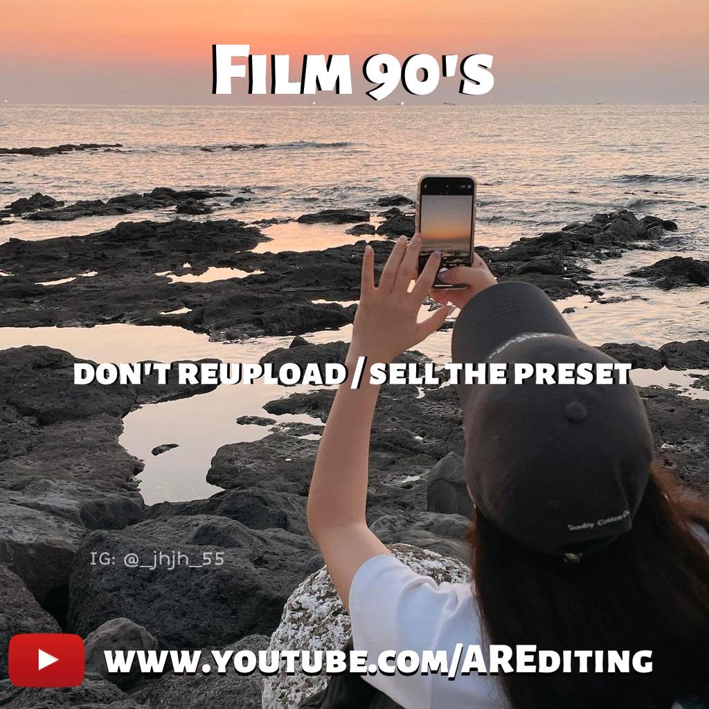 Film 90's Preset!- Lightroom Preset