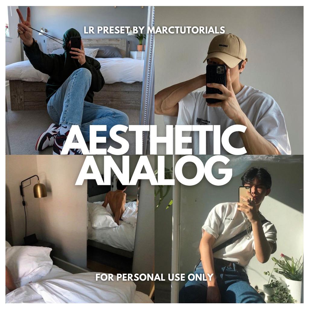 Aesthetic Analog Lightroom Preset- Lightroom Preset