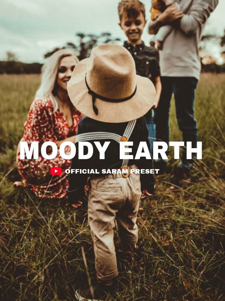 MOODY EARTH PRESET Lightroom Preset