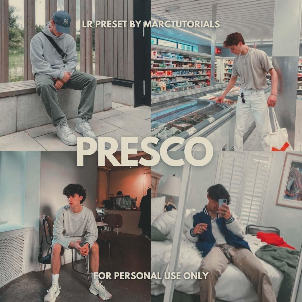 Presco Preset - Lightroom Mobile Aesthetic Light P Lightroom Preset