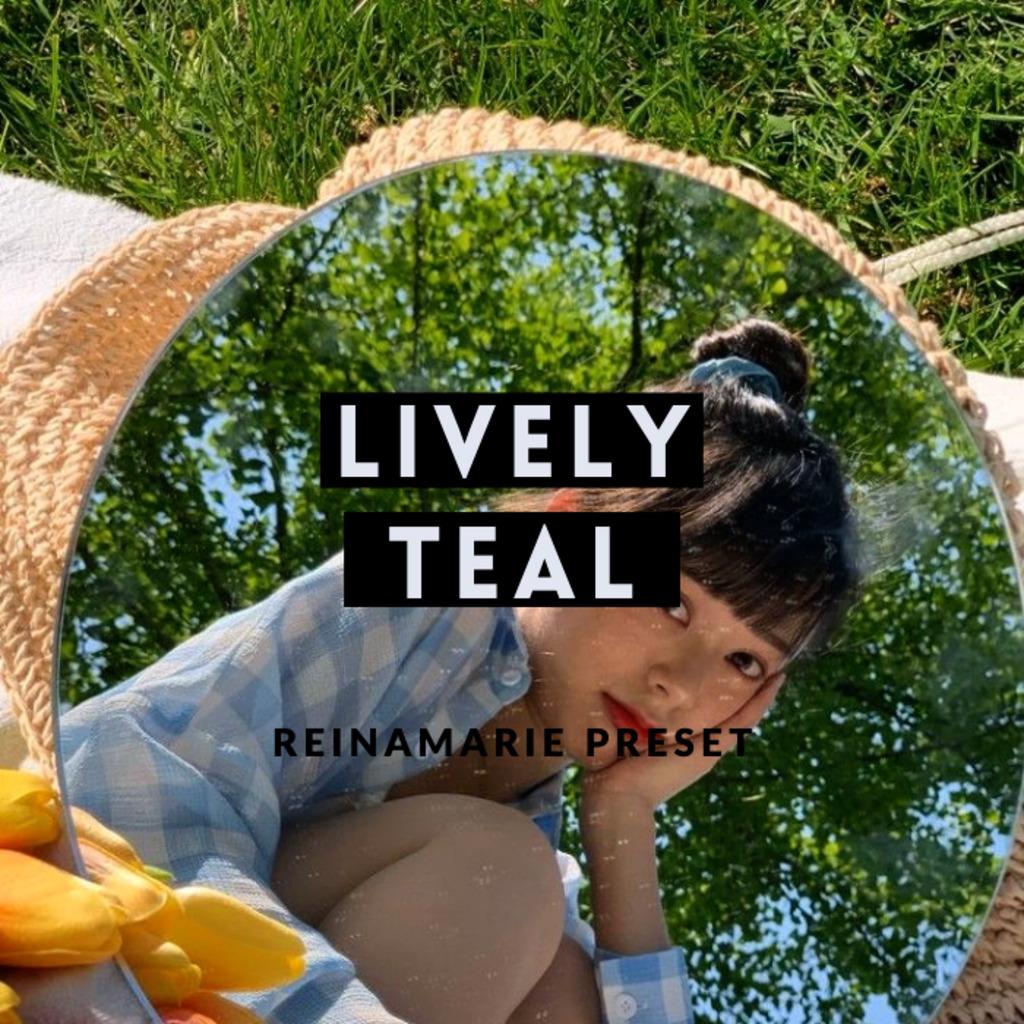 Lively Teal Preset- Lightroom Preset
