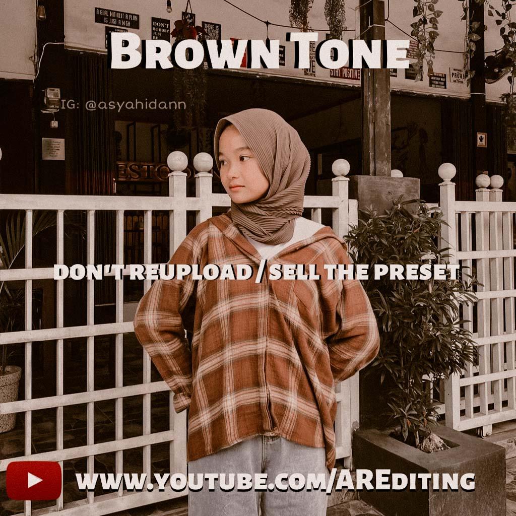 Brown Tone Preset! Lightroom Preset
