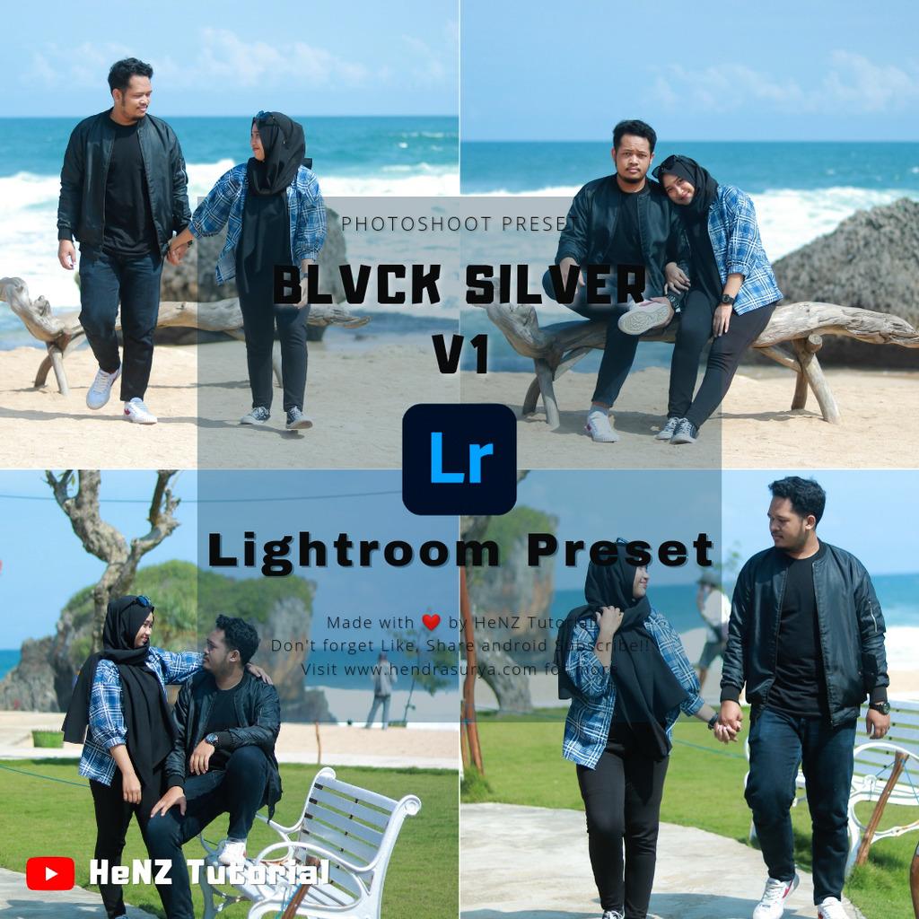 BLVCK Silver V1 Lightroom Preset- Lightroom Preset