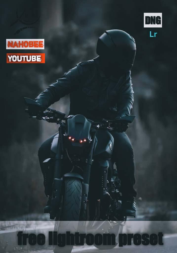 biker preset Lightroom Preset