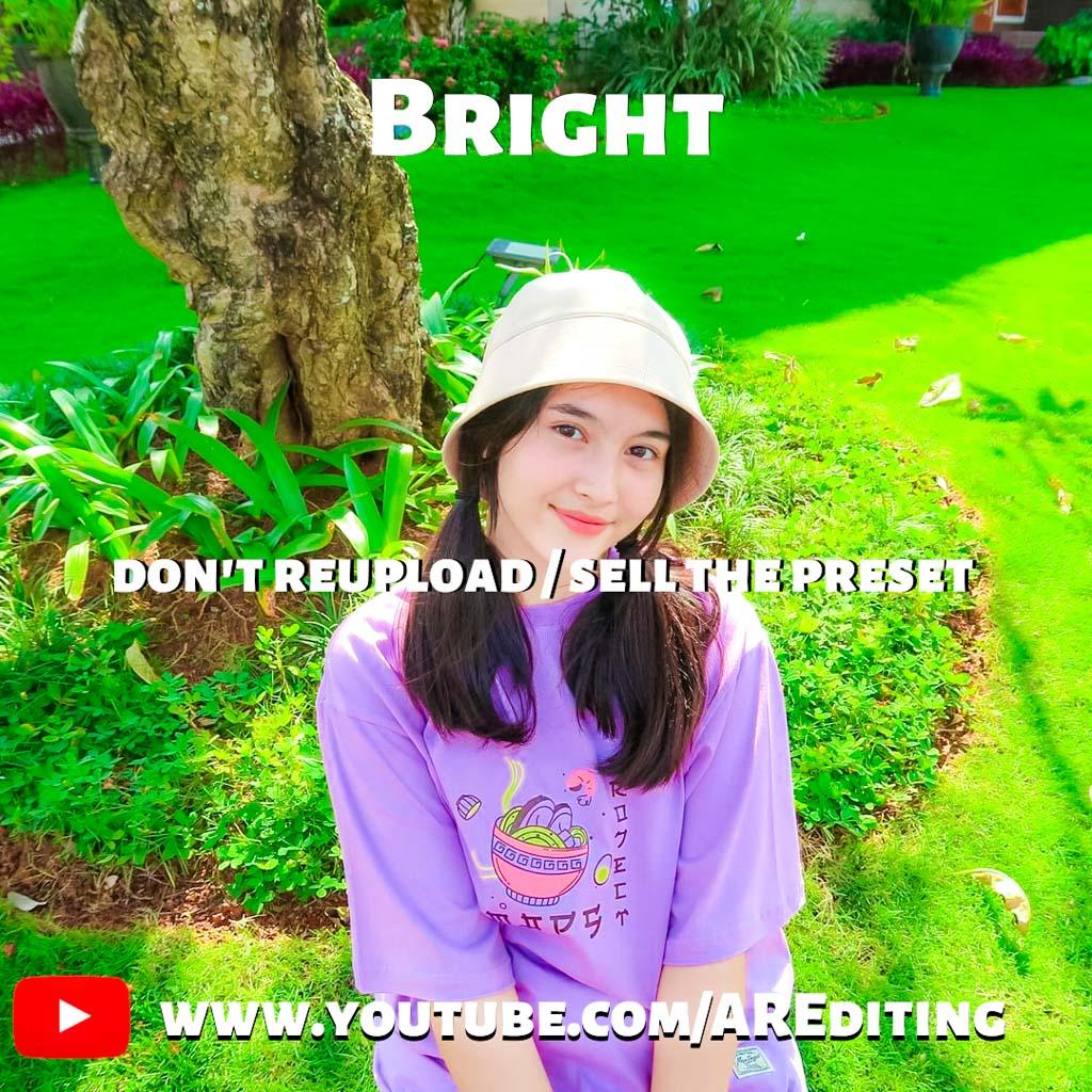 Bright Preset!- Lightroom Preset