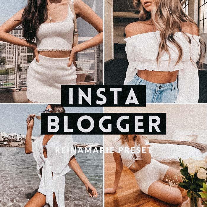 Instant Blogger Preset- Lightroom Preset