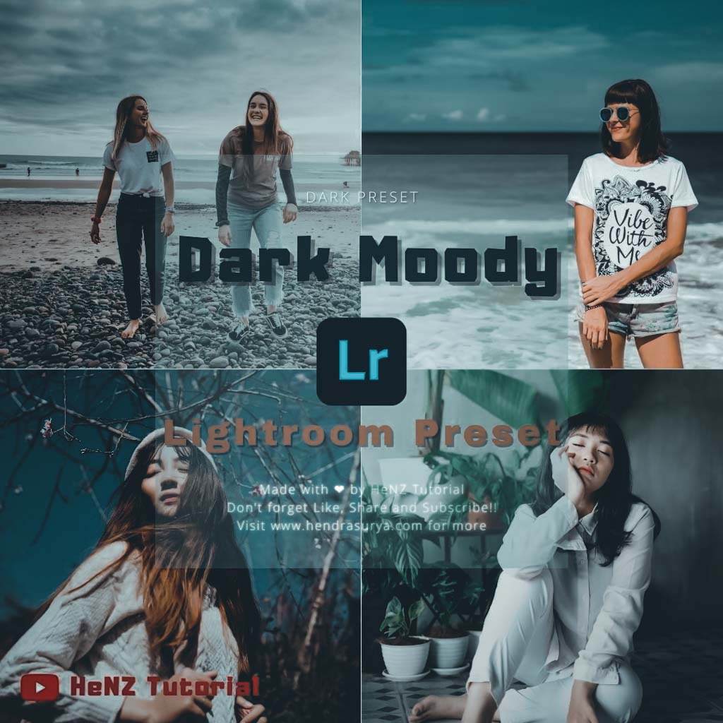 Dark Moody Lightroom Preset Lightroom Preset
