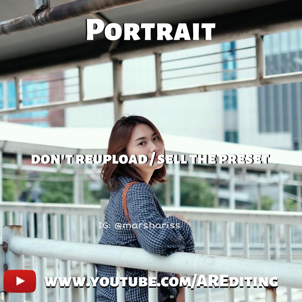 Portrait Preset!- Lightroom Preset