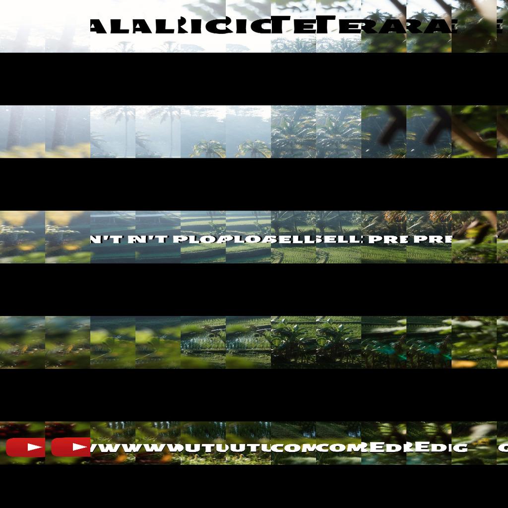 Bali Rice Terrace Presets!- Lightroom Preset