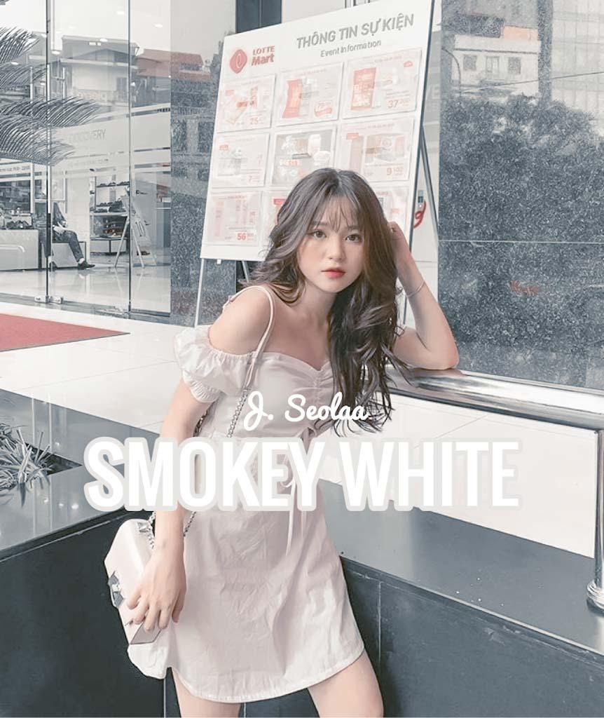 Smokey White Lightroom Preset Lightroom Preset