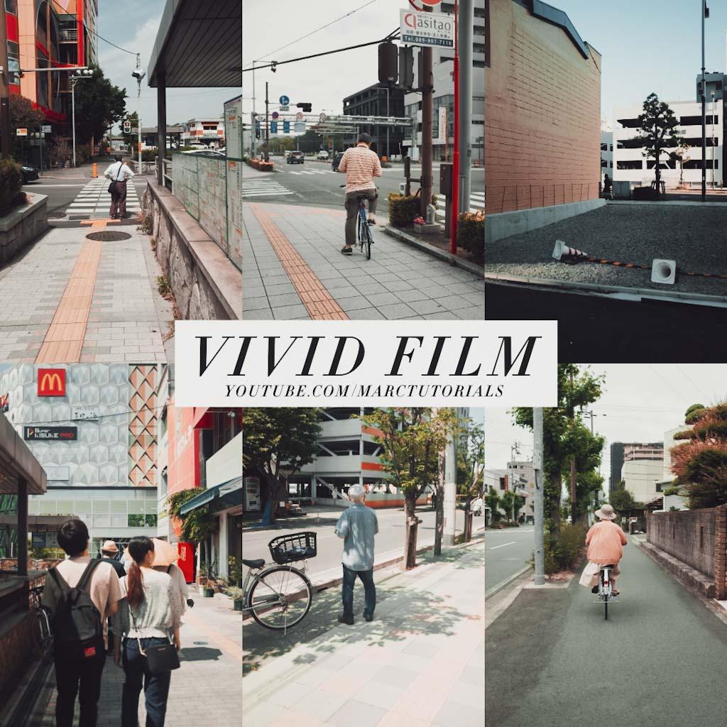 vivid film- Lightroom Preset