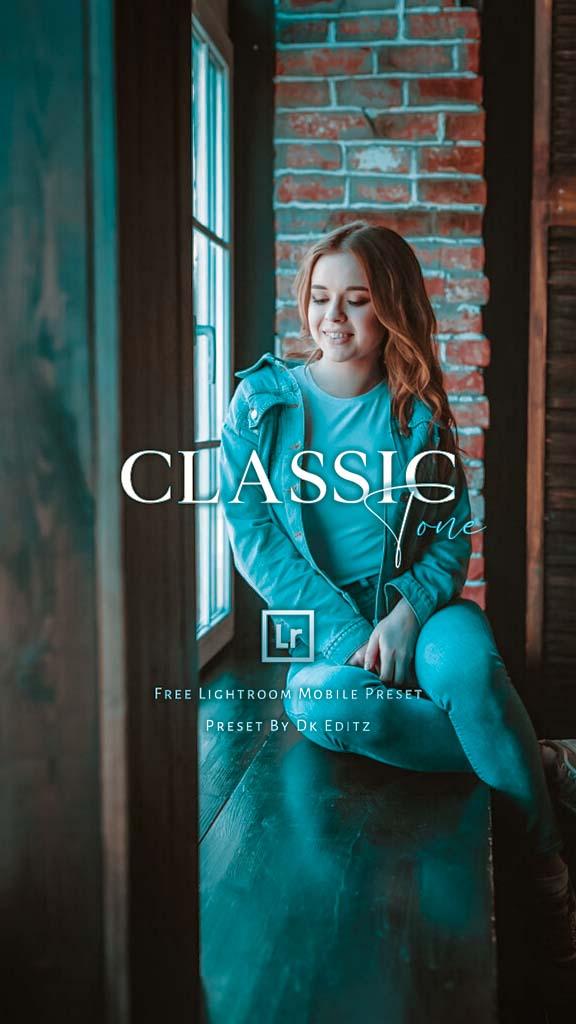 Classic Tone Preset Lightroom Preset