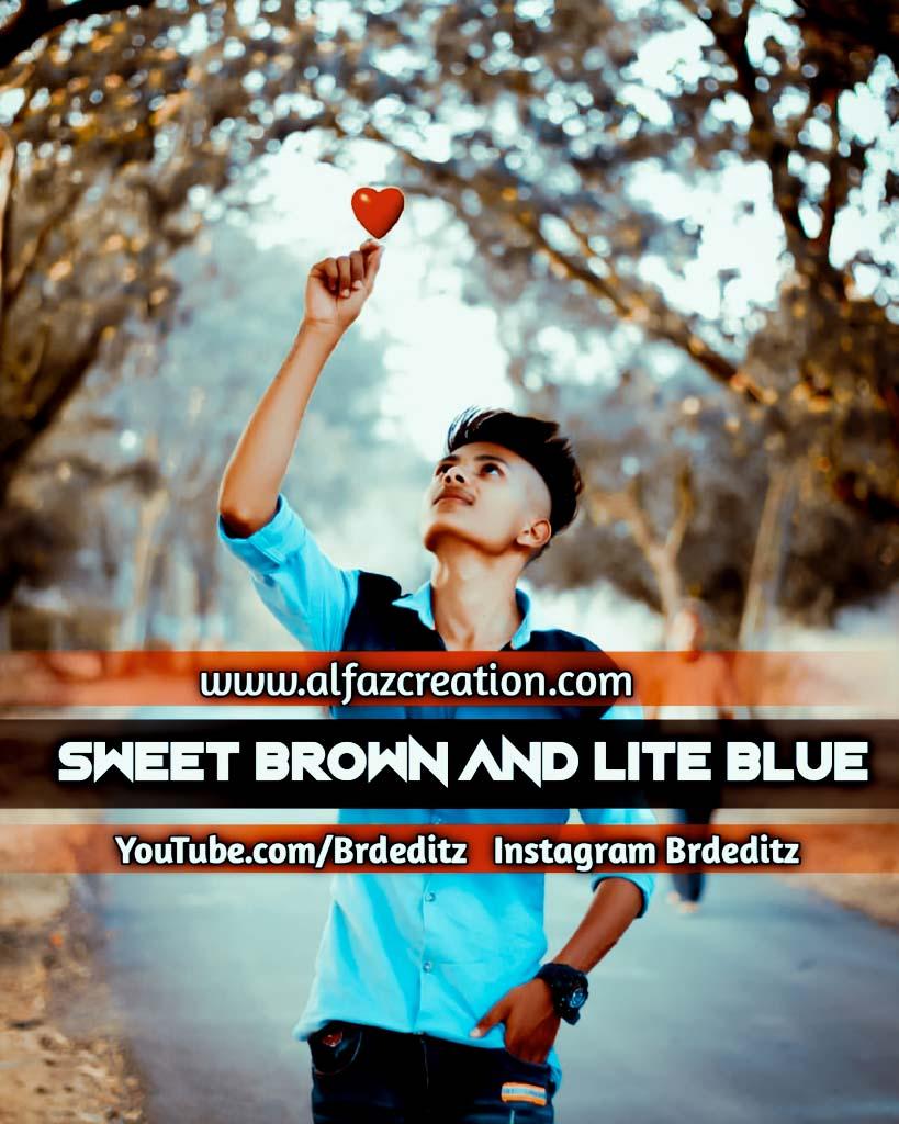 Sweet Brown And Lite Blue Lightroom Presets Downlo Lightroom Preset