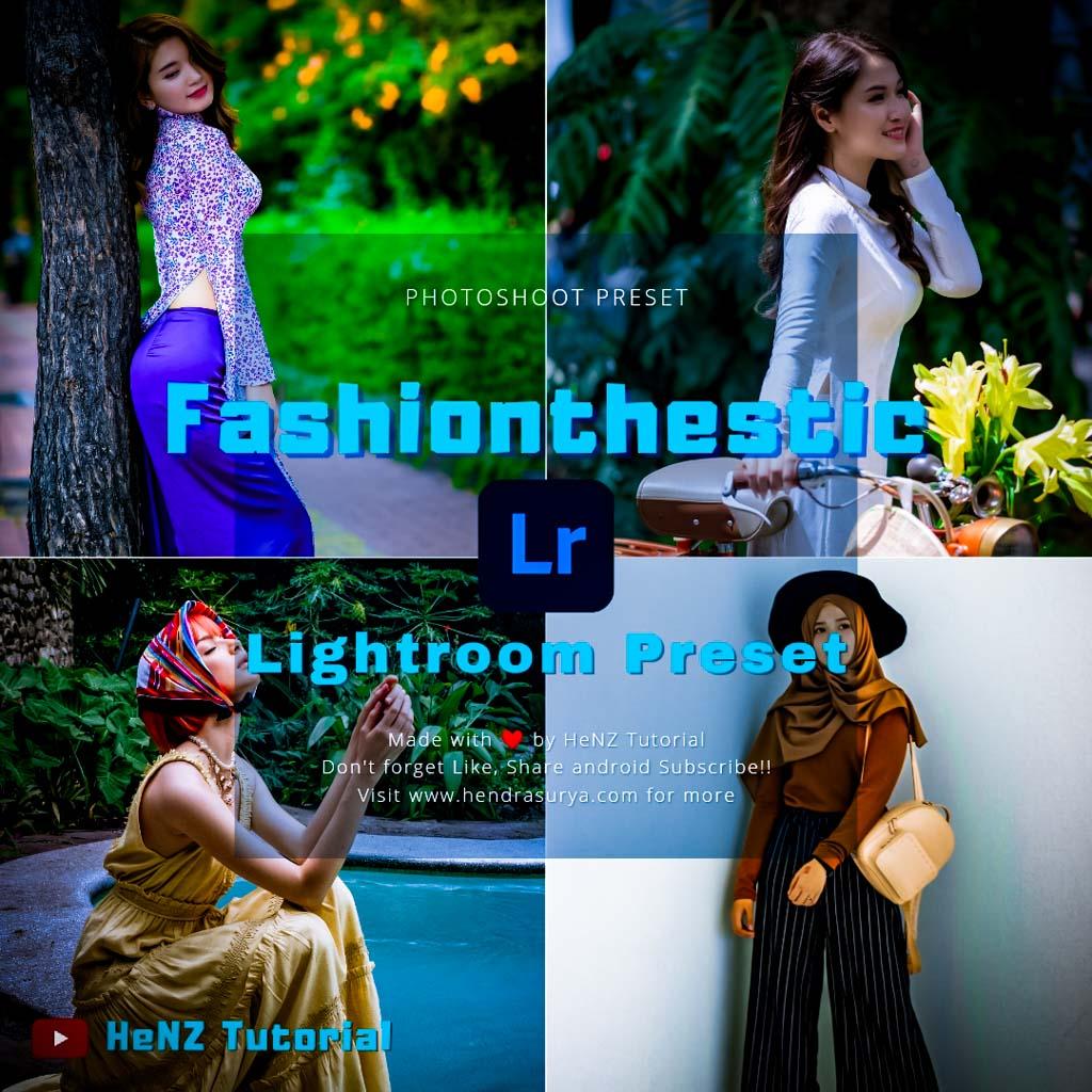Fashionisthetic Lightroom Preset Lightroom Preset
